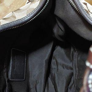 Coach Bags - Coach Signature Canvas Hobo Brown Shoulder Bag